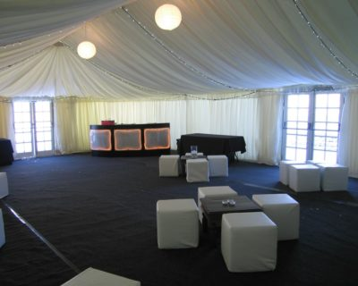 Grey Carpet on waterproof membrane
