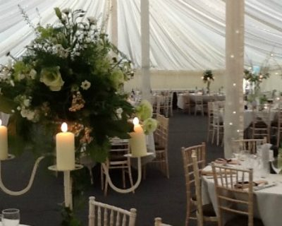 candlelit marquee