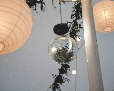 disco ball with lanterns (1)
