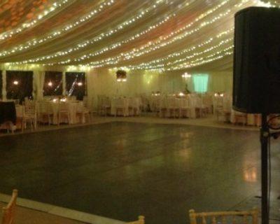 large wooden dance floor