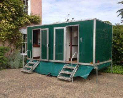 luxury trailer toilet 2+1