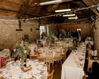 mells barn with lighting and furniture ed