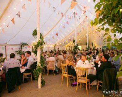 wedding reception somerset garden