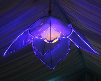 Blue Petal Lantern