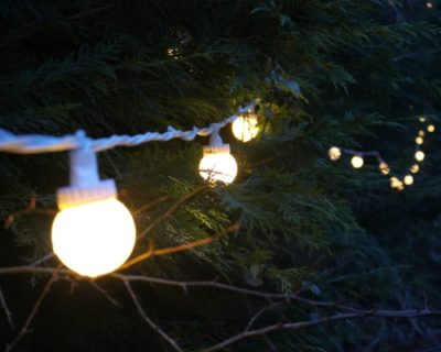 Outside Festoon Lights