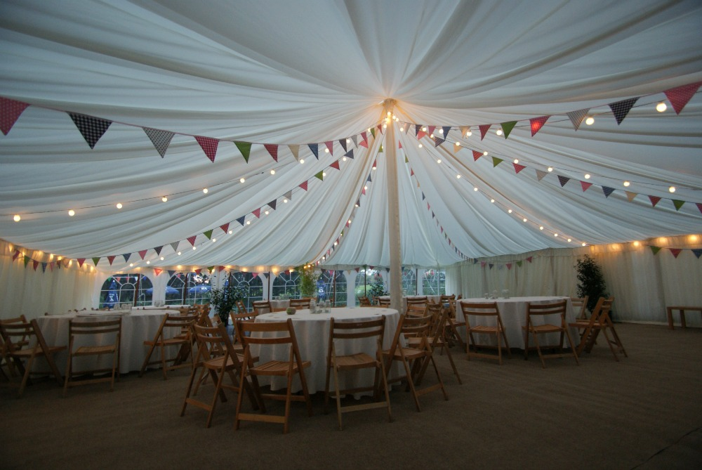 Festoon-bulbs & Marquee Lighting Hire in Somerset | South West Marquees