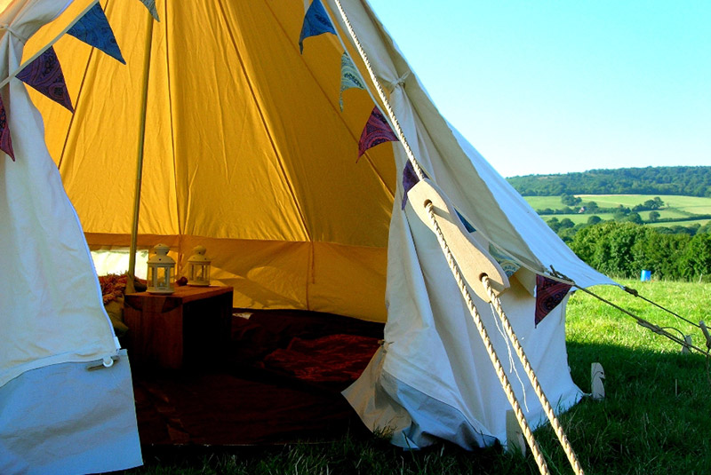 bell-tent-front & Bell Tent Hire in Somerset u0026 Wiltshire | South West Marquees