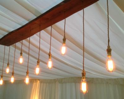 Rustic Edison Lighting