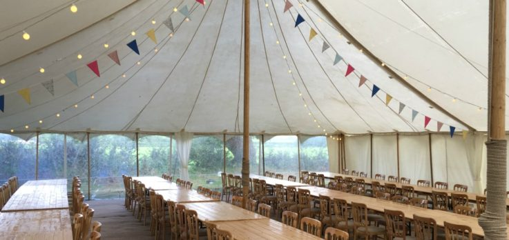 Canvas Marquee interior