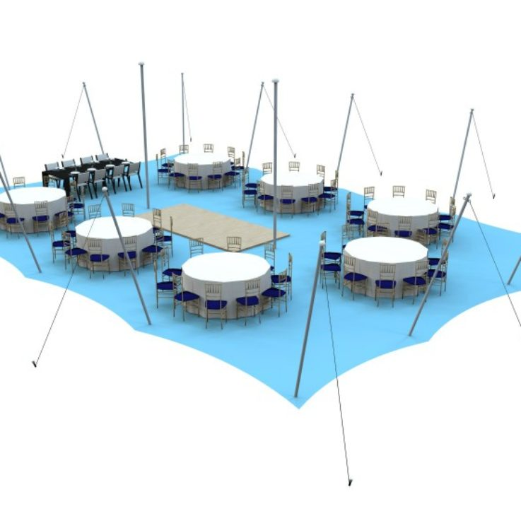 Sit Down Dinner Layout