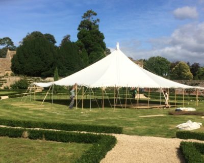 summer marquee build