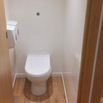 Luxury toilet cubicle