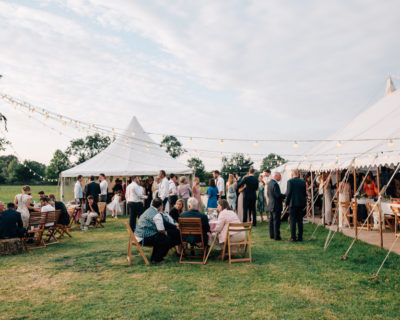 Open Side Traditional Marquee