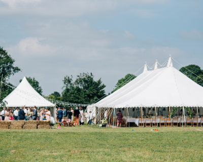 Traditional Marquee with Chines Hat