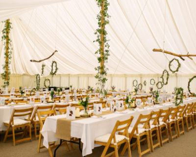 Traditional Marquee with lining