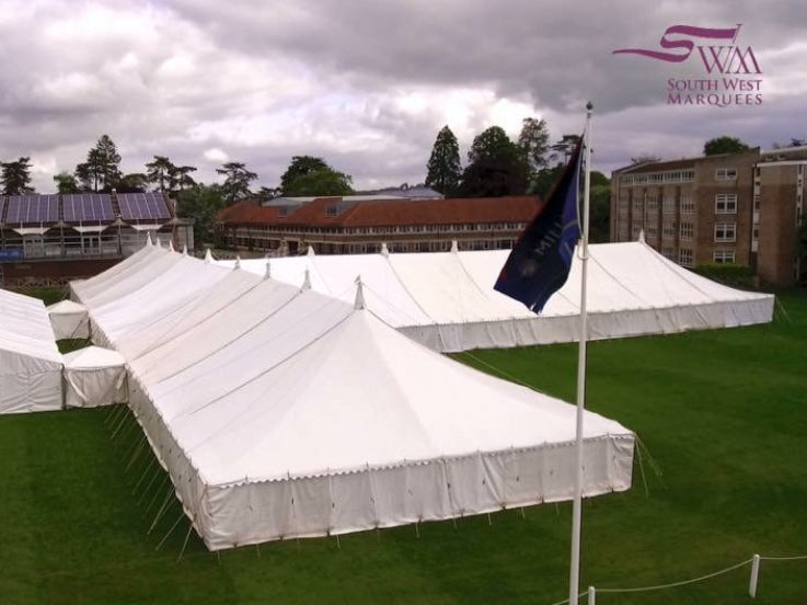 South West Marquees - Traditional Cathedral Marquee