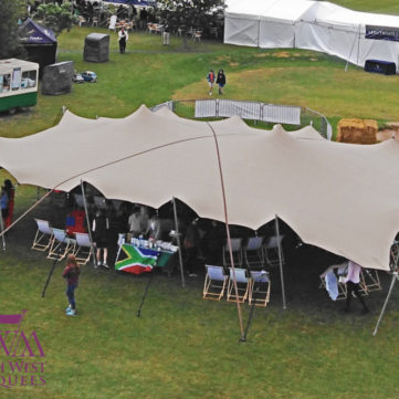 Stretch Tent at Polo Match