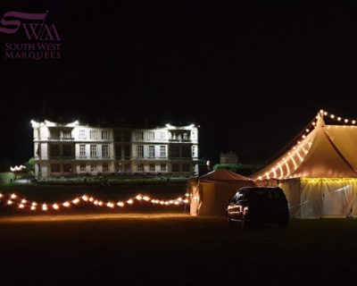 Wedding marquee at Longleat