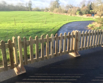 picket fence wood