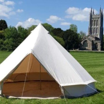 bell tent for wedding