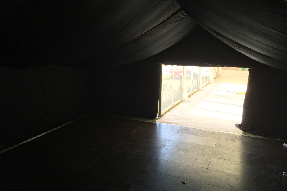 View From Inside The Marquee