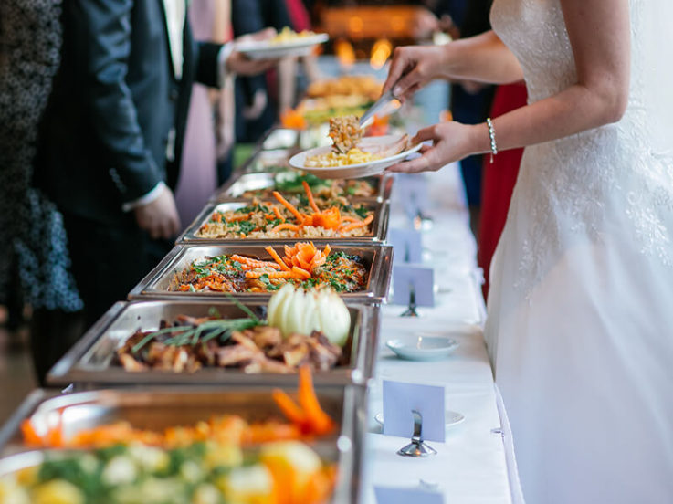 Gourmet Vegan Wedding Catering