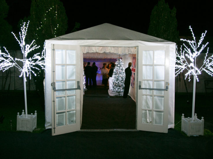 styling your marquee entrance