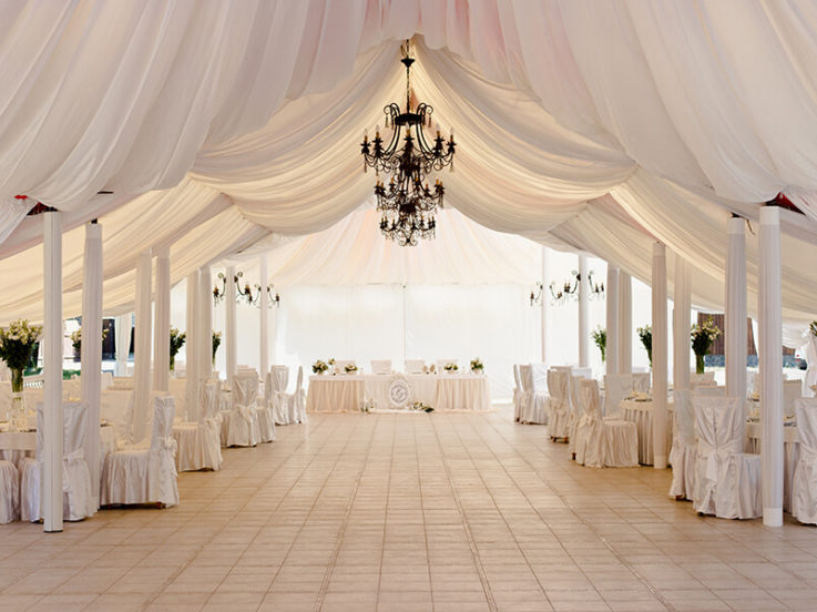 Choosing The Perfect Marquee For Your Wedding